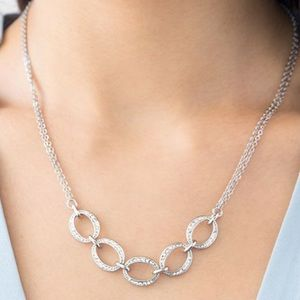 Chloe and Isabel Pavé Links Collar Necklace